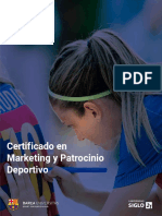 BARCA Universitas Certificado en Marketing y Patrocinio Deportivo