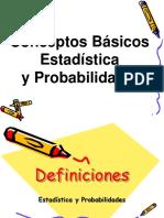 Estadística Basica - Clase 1