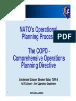 Operational Planning Process