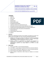 40 Procedimiento Para La Aplicación Del Numeral 3.5 de La NTCSE