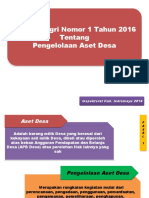 Permendagri 1 Th 2016 Pengelolaan Aset Desa.pptx