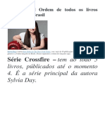 Sylvia Day E-books Séries