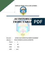 Auditoria Tributaria Tarea 2.docx