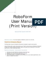 RoboForm Enterprise Manual