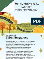 Implementos Para Labores Complementarias Expo