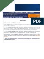 CLUBE DO VALOR - Planilha Para Cálculo de Independência Financeira