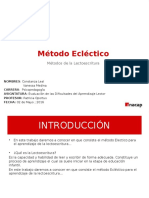PPT METOCO ECELCTICO