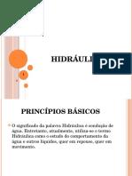 Princípios Básicos Hidraulica