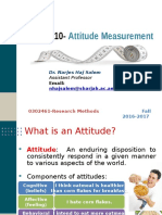 Attitude Measrument Students