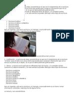 Características de La Lectura