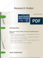 ohima research poster project