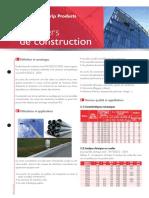 Fiches Produits - Aciers de Construction FR