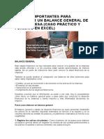 9 Pasos Importantes Para Elaborar Un Balance General de Una Empresa