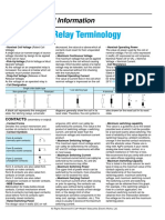 Small Signal Relay Techincal Info