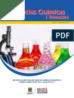 Boletín Intoxicaciones Con Sustancias Químicas I Trimestre