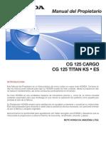 MP CG125 Cargo CG125 Titan KS ES (2000-2001) - D2203-MAN-0263