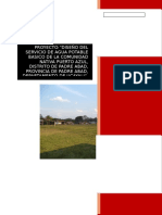 Resumen Ejecutivo y Memoria Descriptiva Puerto Azul