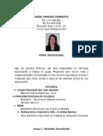 h.v. Isabel Cristina Paredes
