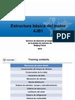 Estructura Basica motor  4JB1 Español