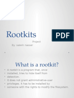 Project 2 rootkits