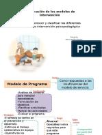Clasificacion de Los Modelos de Intervencion