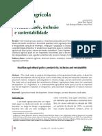 Politica Agricola Brasileira