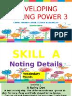 1. Developing Reading Power 3,Rainy