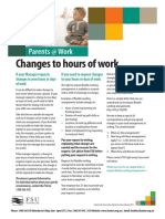 Changes to Hours of Work