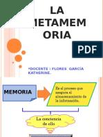 Memoria La metamemoria