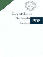 Elon Lages Lima-Logaritmos-Sociedade Brasileira de Matemática (1996)