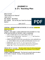 Journey 9 1s & 2s Teaching Plan