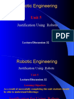 Justification for Using Robots