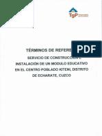 Anexos - Terminos de Referencia y Condiciones Particulares (1)