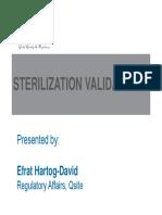 Sterilization Validation Qsite