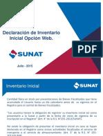 005 Inventario Inicial Opción Web