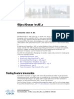 Object Group Acl