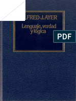 AYER J., ALFRED - Lenguaje, Verdad y Lógica