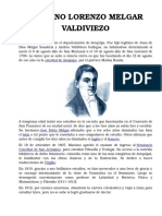 Mariano Lorenzo Melgar Valdiviezo