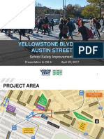 Proposal to Overhaul the Intersection of Yellowstone Boulevard and Austin Street