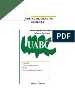 Album Biográfico Teoría Curricular