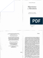 Williams Raymond - Marxismo Y Literatura