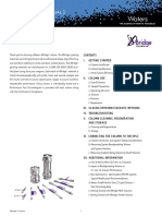 Guía de Cuidados Columnas XBridge