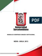 Manual Imagen Usco 2013 - 2016