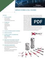 Guía de Cuidados Columnas XSelect