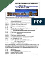 2017 PRT Schedule 042217