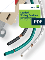 Leaded Receptacle Switch Brochure