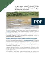 Noticias Contaminacion Del Medio Ambiente