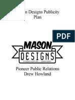 howland mason designs publicity plan