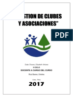Club El Bosque Analisis