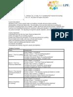 Financial Accounting syllabus